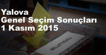 Yalova Seçim Sonuçları, 2015 Genel seçim sonuçları