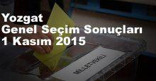 Yozgat Seçim Sonuçları, 2015 Genel seçim sonuçları