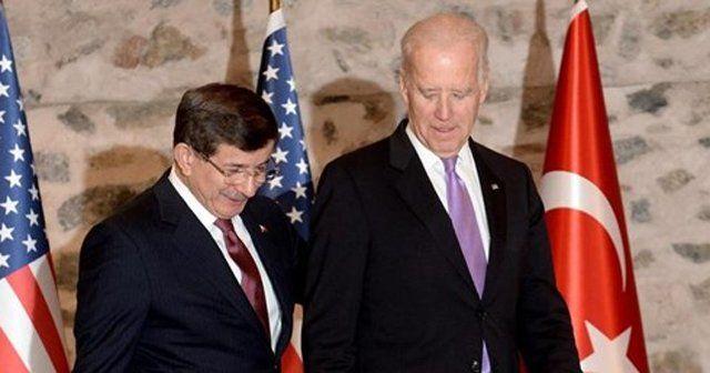 Başbakan Davutoğlu ABD Başkan Yardımcısı Biden ile görüştü
