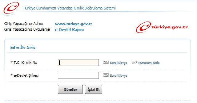 E-devlet hizmetinde en çok SGK 4A hizmet dökümü kullanılıyor