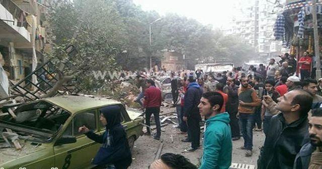 Mısır'da patlama, 1 ölü, 14 yaralı