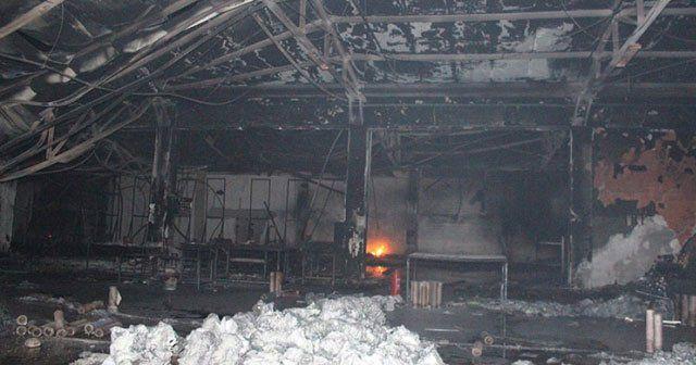 Sakarya'da plastik fabrikasında yangın