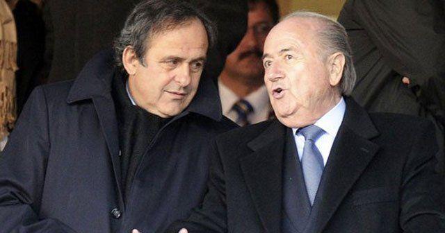 Sepp Blatter ve Michel Platini'ye 8 yıl men!