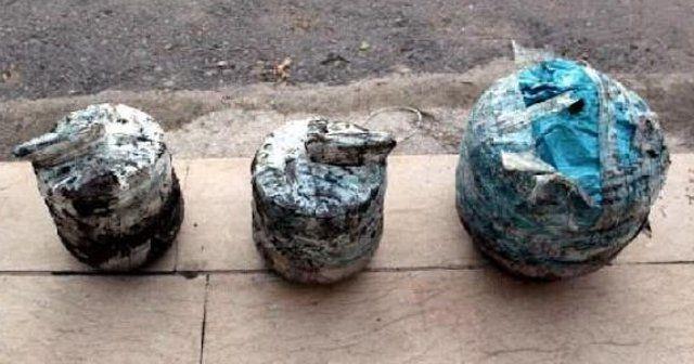 Tuzaklanmış bomba etkisiz hale getirildi