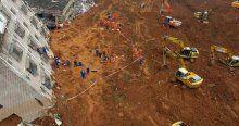 33 bina toprak altında kaldı, 91 kayıp