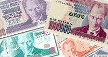 6 sıfırlı banknotlar 31 Aralık'ta tarihe karışıyor