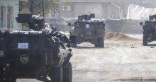 Cizre'de yoğun şiddetli çatışma