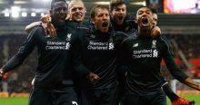 Liverpool'dan Lig Kupası'nda dev fark