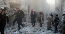 Rus uçakları sivilleri vurdu, 16 ölü
