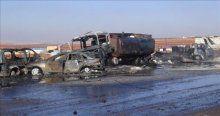 Rusya Suriye'de yakıt pazarına saldırdı, 25 ölü