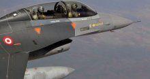 Suriye sınırında 12 F-16 devriye uçuşu yaptı