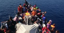 Yine göçmen faciası, 2 ölü