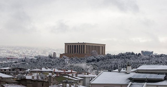 Ankara'da Okullar Tatil Mi, Ankara'da Kar Yağışı Ne Kadar Sürecek - Ankara hava durumu