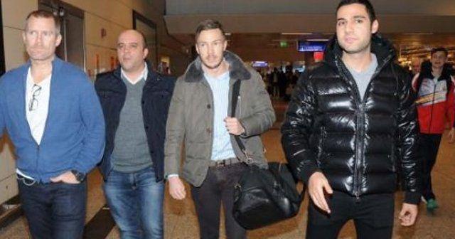 G.Saray'ın yeni transferi İstanbul'da