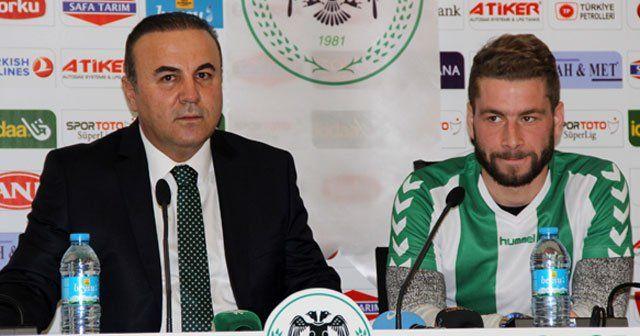 Nejc Skubic, Torku Konyaspor'a imzayı attı