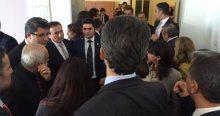 Başbakan Davutoğlu'ndan HDP'li vekillere 'hendek' tepkisi
