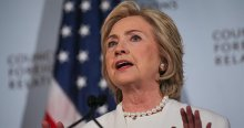 Başkanlık seçimleri anketinde Clinton geri düştü