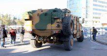 Diyarbakır Sur'a askeri sevkiyatı