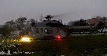 İzmir'de askeri helikopter zorunlu iniş yaptı