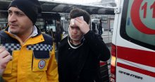 Metrobüs yolunda kaza, 5 kişi yaralandı