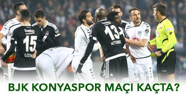 Beşiktaş Torku Konyaspor Maçı Saat Kaçta, Beşiktaş Konyaspor Maçı Hangi Kanalda (TÜRKİYE KUPASI)