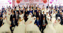 14 Şubat Sevgililer Günü'nde nikah yoğunluğu