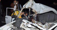 Aksaray'da kaza, 1 ölü 4 yaralı