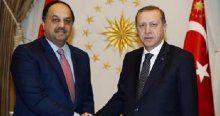 Erdoğan, Al-Atiyah'ı kabul etti