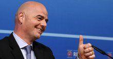 FIFA'nın yeni başkanı Infantino oldu