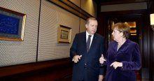 Merkel'den Erdoğan'a ilginç soru
