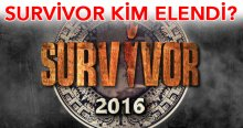 Survivor kim elendi kim elenecek, Survivor Tuğba Özay elendi mi Yılmaz Morgül mü elendi