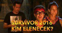 Survivor kim elendi, Tuğba Özay mı, Yılmaz Morgül mü - Survivor 2016 eleme