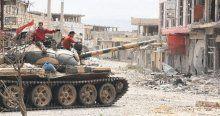 YPG o bölgeyi aldı, Esad'ın ordusu ilerliyor