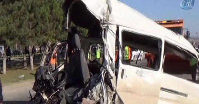 Ankara'da trafik kazası, 2 ölü