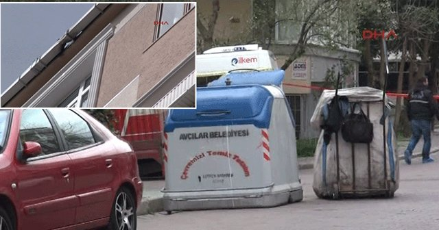 Avcılar'da çöp konteyneri yakınında patlama