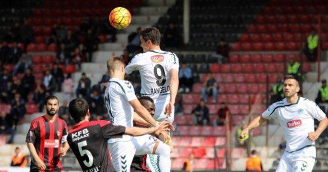 Konyaspor, Gaziantep'i deplasmanda 1-0 mağlup etti