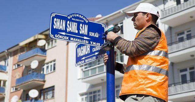 Sinan Şamil Sam'ın ismi oturduğu sokağa verildi