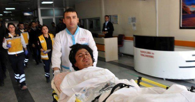 Sınırı geçmek isteyen 2 kişi vuruldu