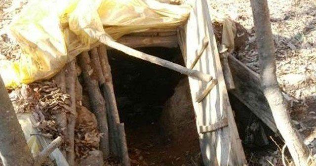 Tunceli'de 10 sığınak bulundu