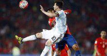 Messili Arjantin Şili'yi yendi