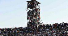 Nijerya-Mısır maçında inanılmaz görüntüler!