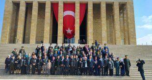 Anıtkabir'de 18 Mart Çanakkale Şehitleri Anma Töreni düzenlendi