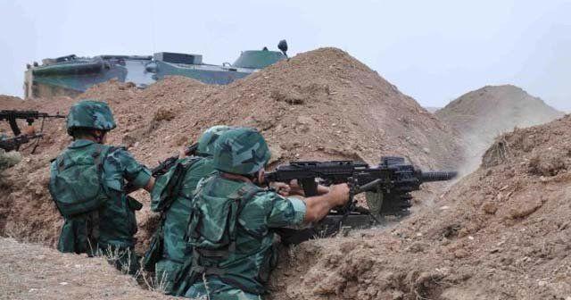 Azerbaycan 24 sene sonra Karabağ'da cephe elde etti