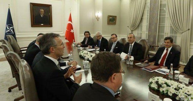 Başbakan Davutoğlu ile Stoltenberg bir araya geldi