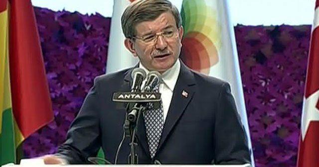 Davutoğlu, EXPO 2016 açılışında konuştu