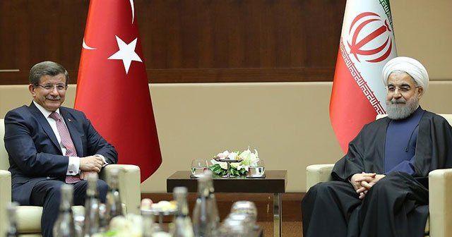 Davutoğlu-Ruhani görüşmesinde terörle mücadele vurgusu