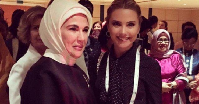 Ece Erken'den Emine Erdoğan'lı paylaşım