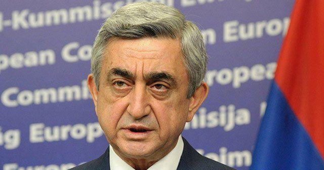 Ermenistan Cumhurbaşkanı Sarkisyan'dan itiraf gibi açıklama