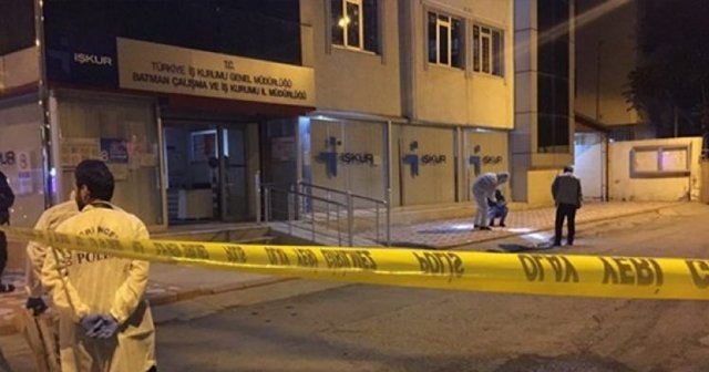 İŞKUR binasına el yapımı bomba atıldı