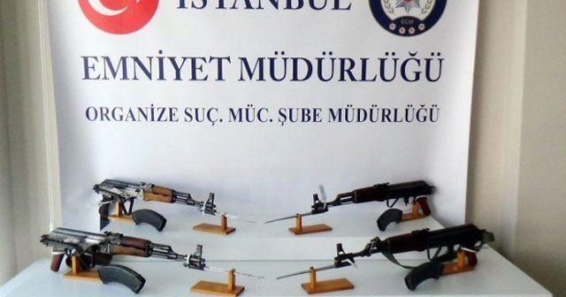 İstanbul'da silah kaçakçılığı operasyonu